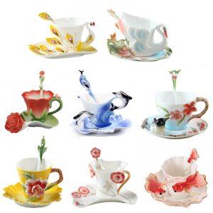 Ceramic Tea Cups Image 1